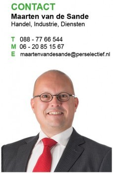 Maarten van de Sande - Perselectief Interim Financials Zorg