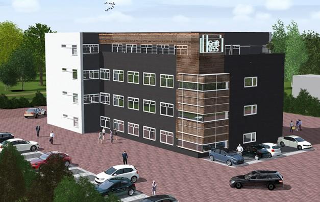 Perselectief nieuw kantoor Grift055