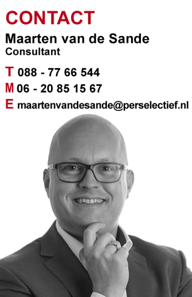 Maarten van de Sande Finance en Interim
