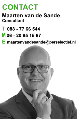 Maarten van de Sande Interim Management